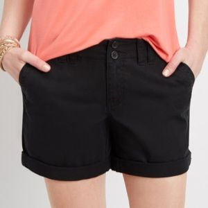 Maurices Black Shorts. Size: 1/2